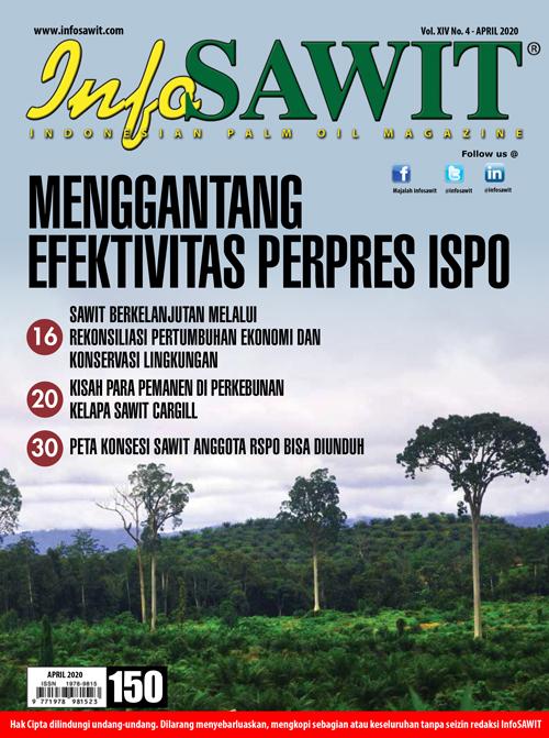 Majalah InfoSAWIT edisi April 2020