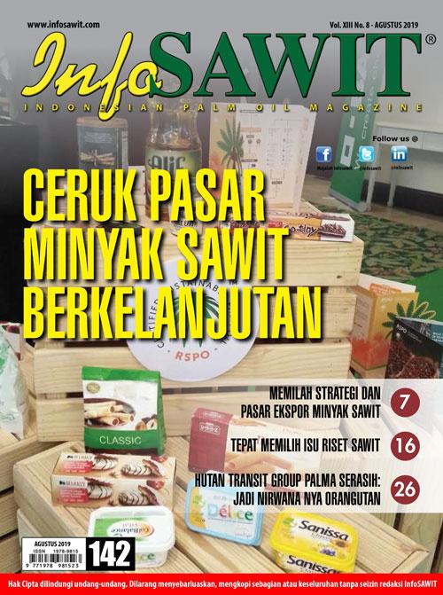 Majalah InfoSAWIT edisi Agustus 2019