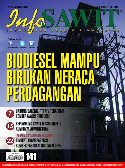Majalah InfoSAWIT edisi Juli 2019
