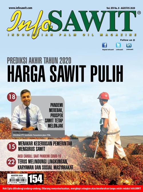 Majalah InfoSAWIT edisi Agustus 2020
