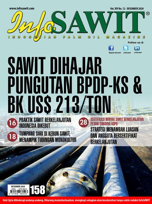 Majalah InfoSAWIT edisi Desember 2020