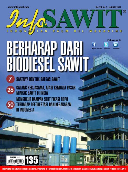 Majalah InfoSAWIT edisi Januari 2019