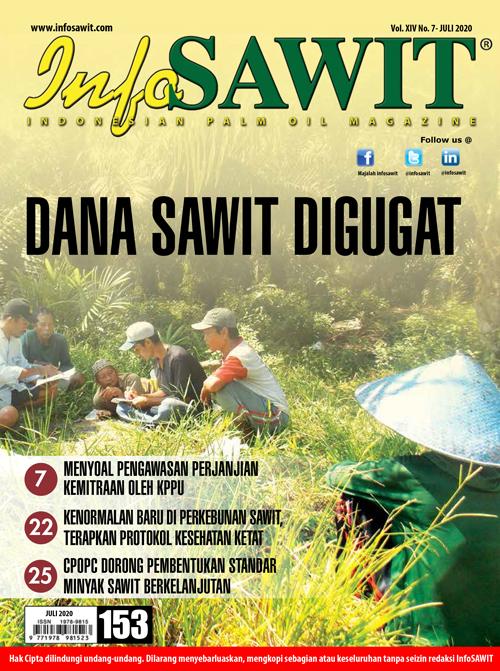 Majalah InfoSAWIT edisi Juli 2020