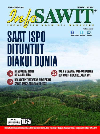 Majalah InfoSAWIT Edisi Juli 2021