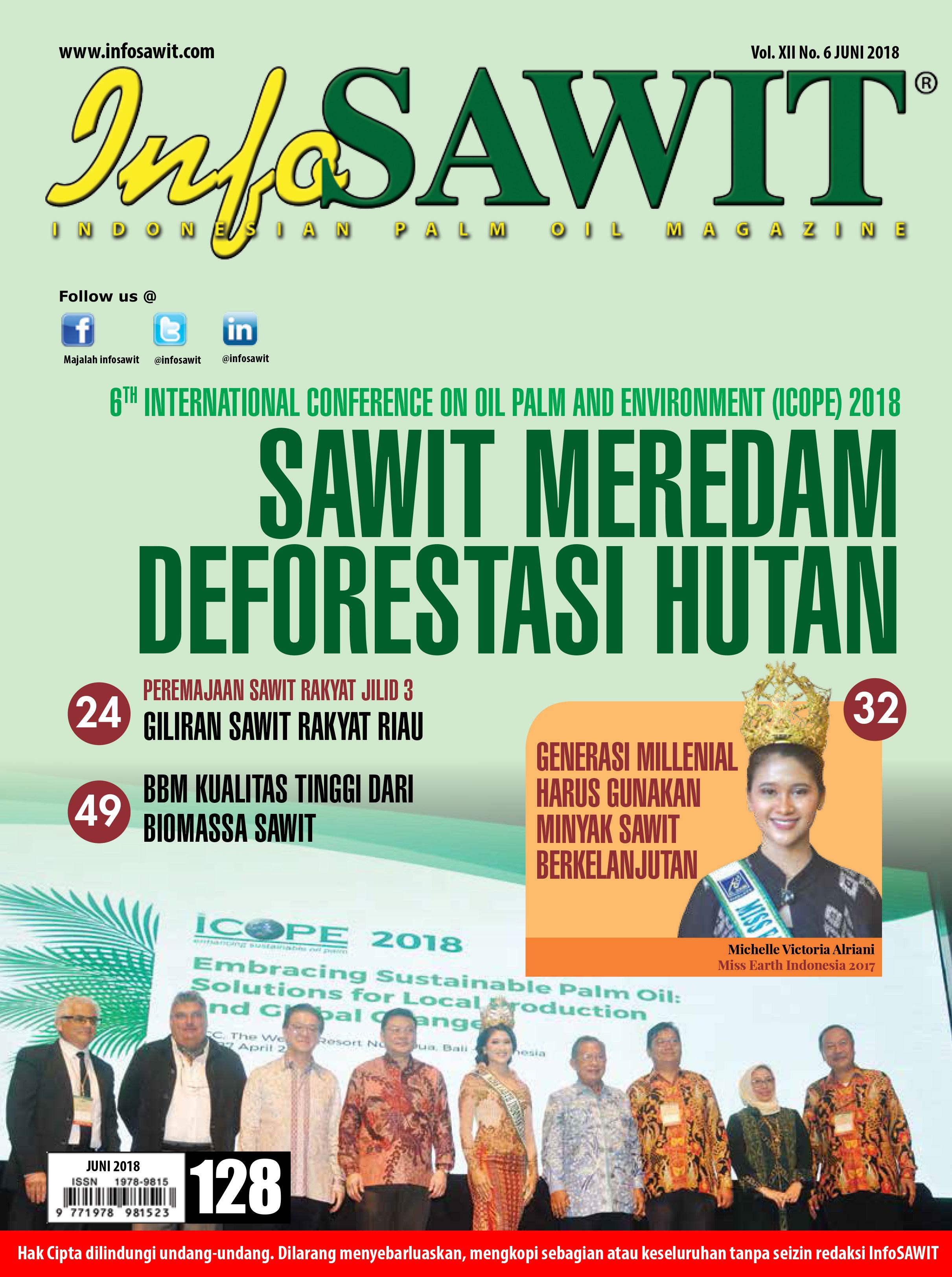 Majalah InfoSAWIT Edisi Juni 2018