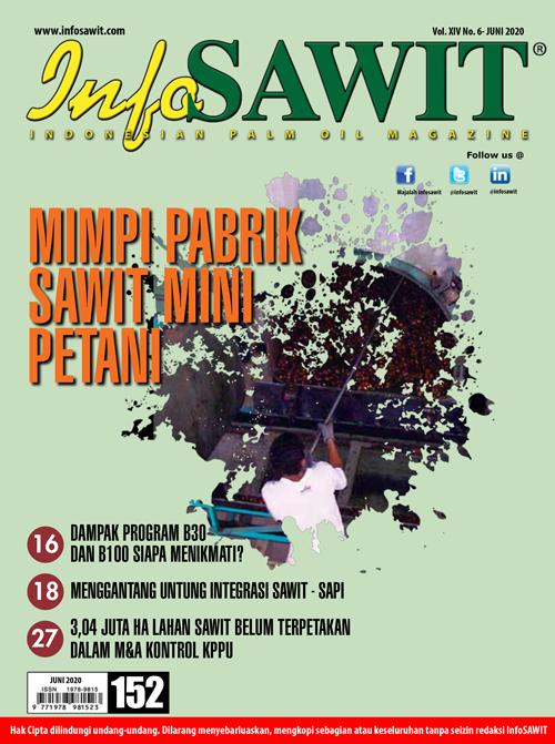 Majalah InfoSAWIT edisi Juni 2020