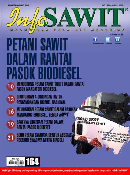 Majalah InfoSAWIT edisi Juni 2021