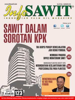 Majalah infosawit Edisi Januari 2018