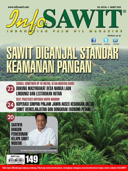 Majalah InfoSAWIT edisi Maret 2020