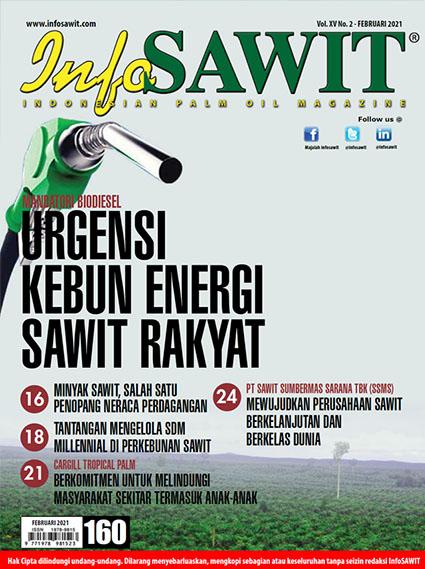 Majalah InfoSAWIT Edisi Februari 2021