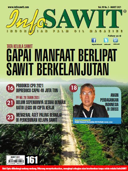 Majalah InfoSAWIT Edisi Maret 2021