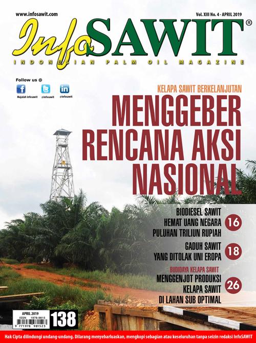 Majalah InfoSAWIT edisi April 2019