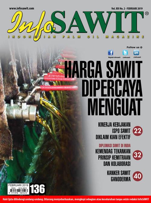 Majalah InfoSAWIT edisi Februari 2019