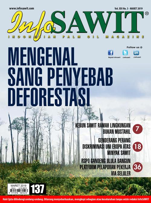 Majalah InfoSAWIT edisi Maret 2019