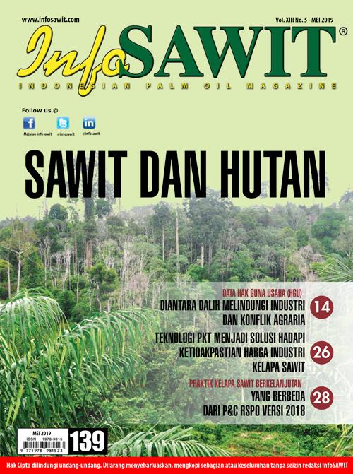 Majalah InfoSAWIT edisi Mei 2019