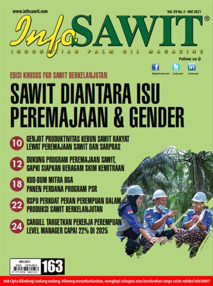 Majalah InfoSAWIT edisi Mei 2021