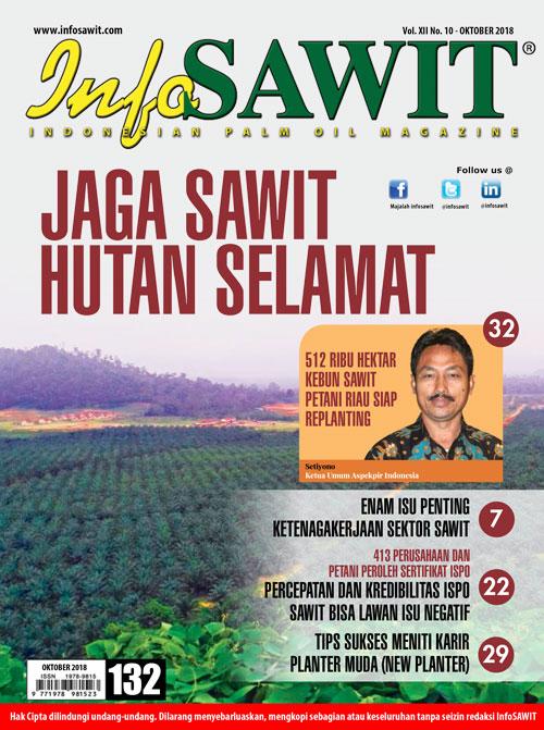 Majalah InfoSAWIT edisi Oktober 2018