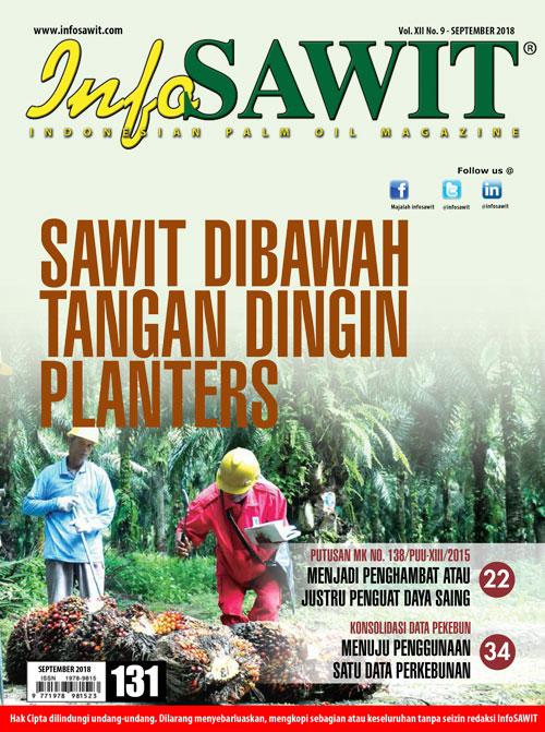 Majalah InfoSAWIT edisi September 2018
