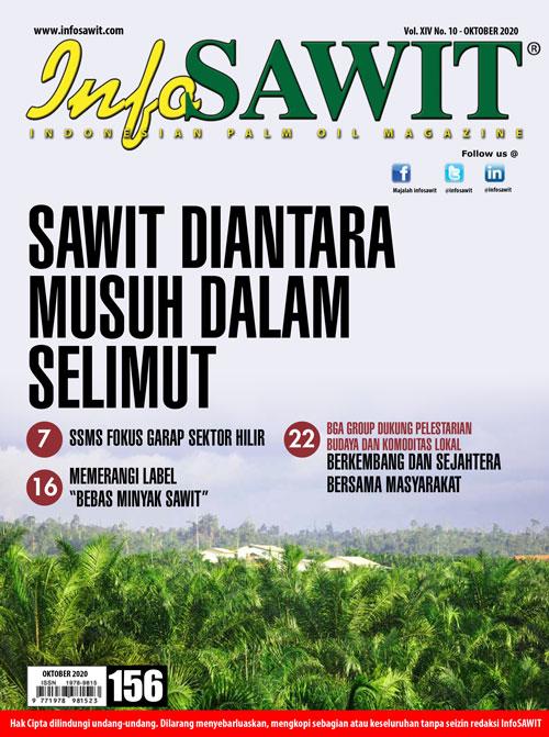 Majalah InfoSAWIT edisi Oktober 2020
