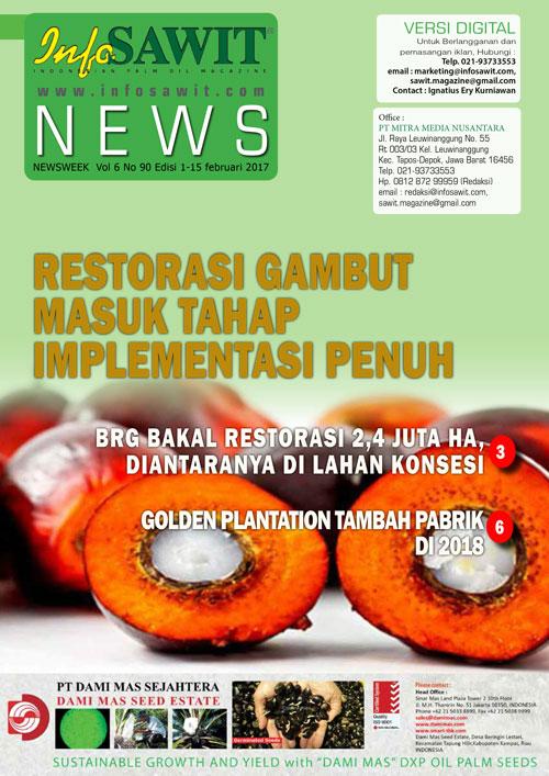NEWSWEEK  Vol 6 No 90 Edisi 1-15 februari 2017