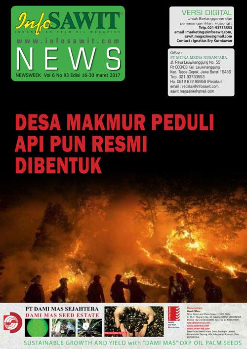 NEWSWEEK  Vol 6 No 93 Edisi 16-30 maret 2017