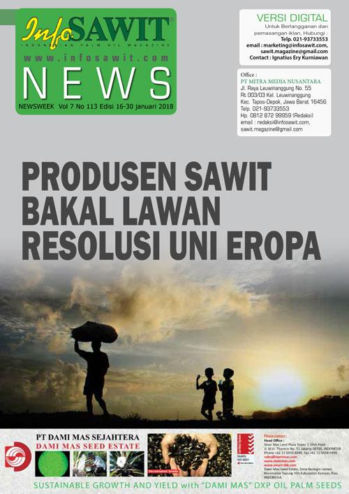 NEWSWEEK  Vol 7 No 113 Edisi 16-30 januari 2018